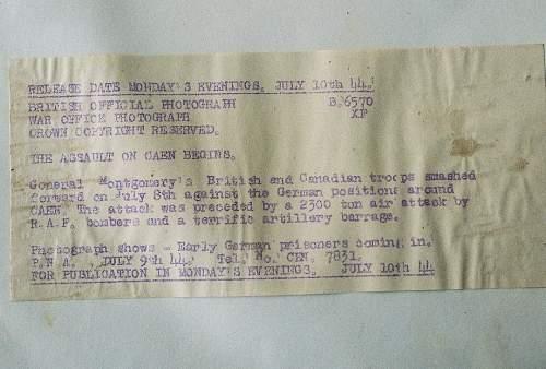 surrendering German Luft soldiers-what location