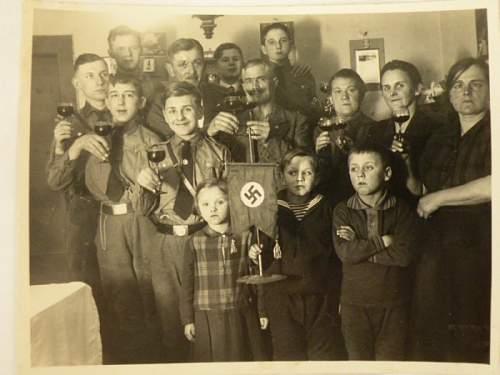 Is this a original photo or a postwar print?