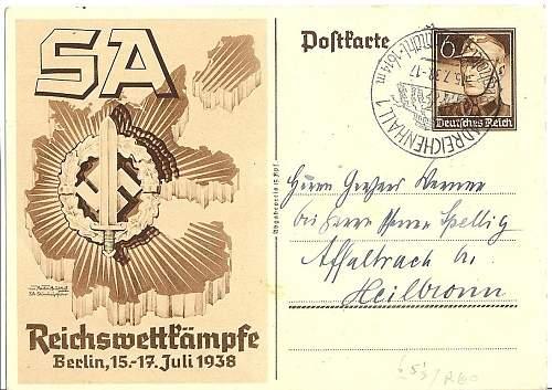 Postcards Identification need.