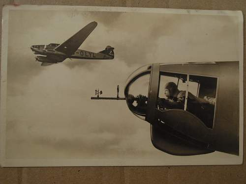 My Luftwaffe postcards