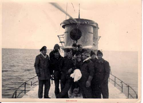 Can anyone recognise a U-Boat type from these pics please?