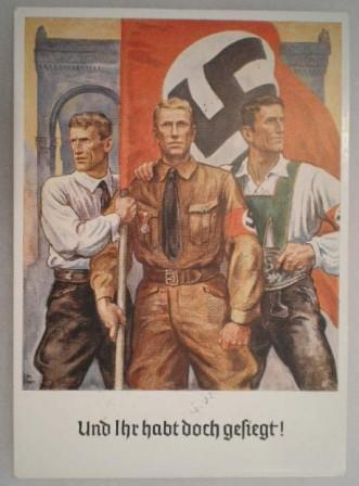 Political Propaganda Cards
