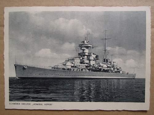 Click image for larger version.  Name:Schwerer Kreuzer Admiral Hipper (front).JPG Views:1300 Size:180.0 KB ID:309383