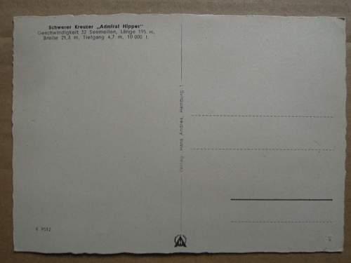 Click image for larger version.  Name:Schwerer Kreuzer Admiral Hipper (rear).JPG Views:78 Size:178.1 KB ID:309386