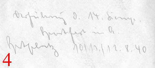 Help with German writing on photos