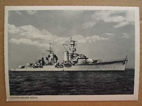 Click image for larger version.  Name:Leichter Kreuzer K�ln 1940 (front).JPG Views:163 Size:176.8 KB ID:314273