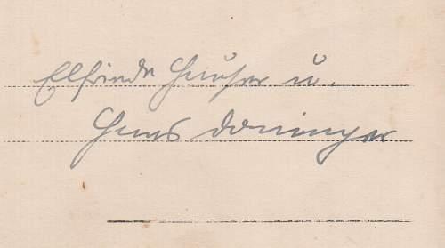 Panzerman Postcard