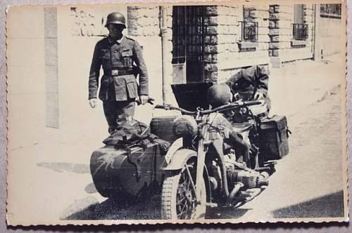 war time postcard