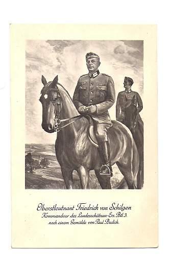Oberstleutnant Friedrich von Schilgen