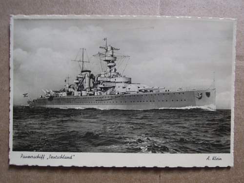 Click image for larger version.  Name:Panzerschiff Deutschland 1936 (front).JPG Views:932 Size:190.6 KB ID:329372
