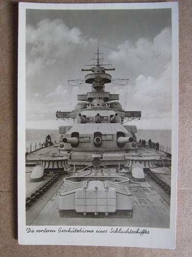 My Kriegsmarine postcards