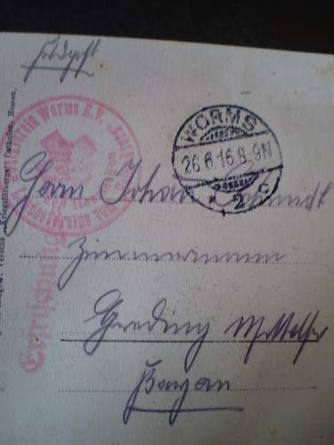 Postcard translations