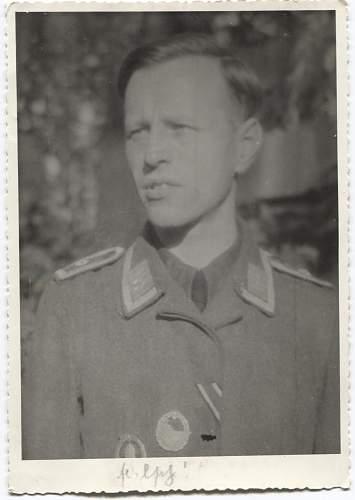 Luftwaffe with kriegsmarine awards.