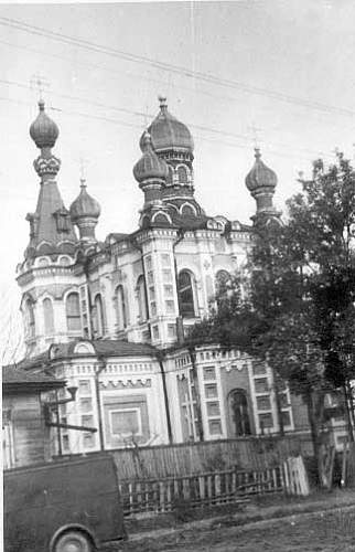The towns of the USSR, look from a German camera