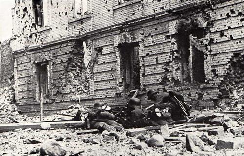 Interesting detail: fighting in Brest-Litovsk