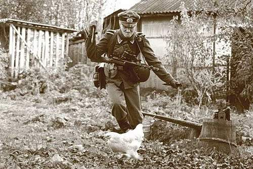 funny german soldier