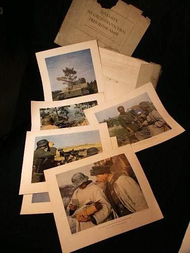 Combat photo series.