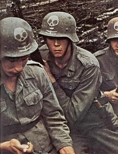 Original Photos Of Helmets In Combat