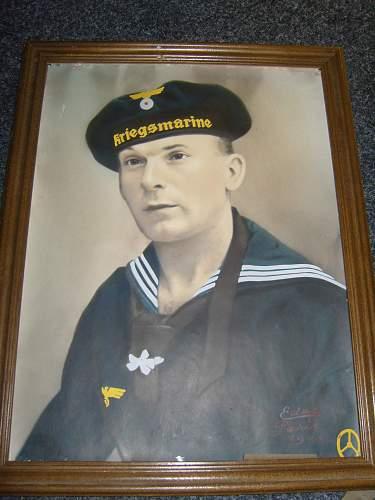 kreigsmarine portrait dated 1941