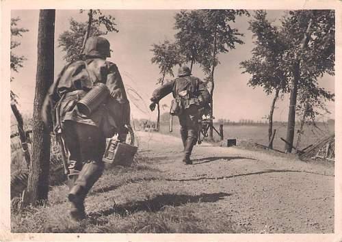 """Unsere Waffen-SS"" Photo Postcards"