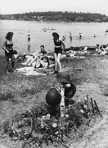 Interesting Grave shot post war