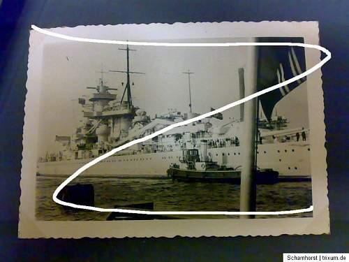 Scharnhorst Photo Album