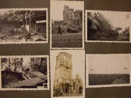 Luftwaffe Battle of France album.