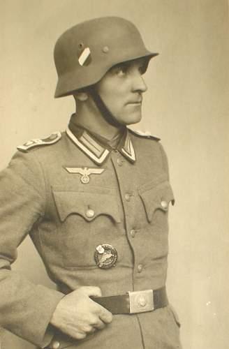 Army-Motorist portrait