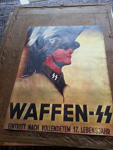 Possible genuine Poster Waffen SS?