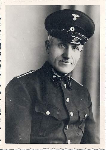 Reichsbahn Official Portrait Photo