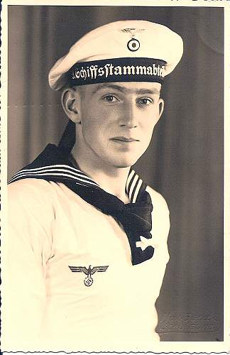 KRIEGSMARINE Sailor Portrait Photo