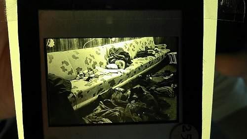 Slides from Denmark during ww2.