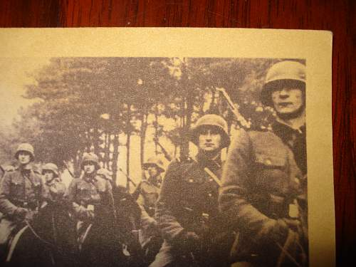 Division Galicia postcards, originals?