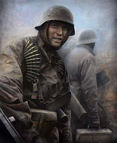 Mr Battle of the Bulge...... Hans Tragarsky??
