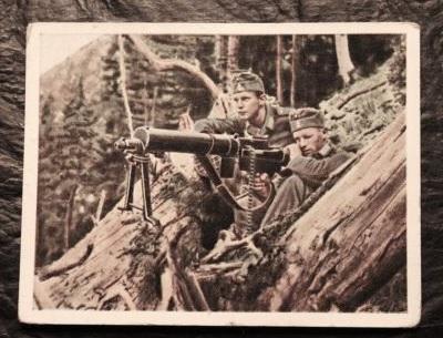 german machine gunners?
