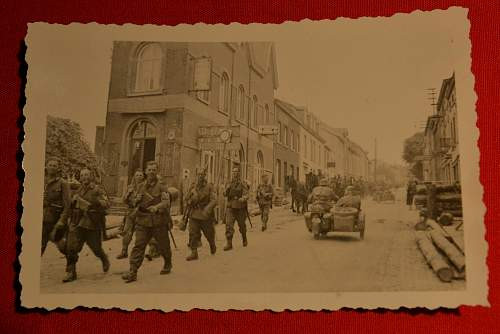 German Infantry in France?