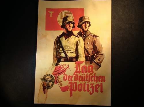 Poster - Tag der deutschen polizei