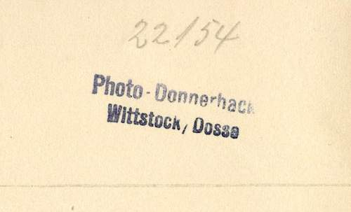 Embossed stamps of German Photographers