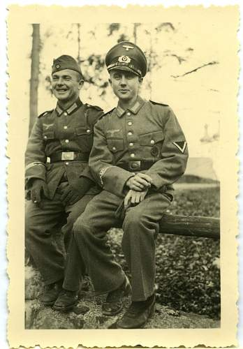 Odd Pic - Afrika Korps Heer With Luft Buckle