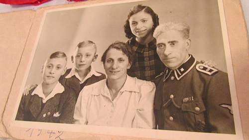 Met a German Woman She Gave me her HJ Photos and Father SS Officer.