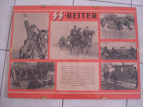 SS reiter poster