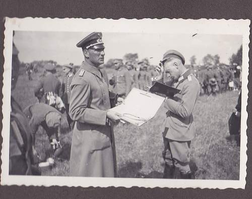 Pioneer Officer Photo Album circa 1935 showing Transitional Uniforms