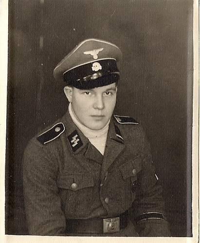 Finnish SS volunteer of Nordost