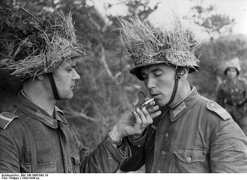 Original Photos Of Helmets In Combat