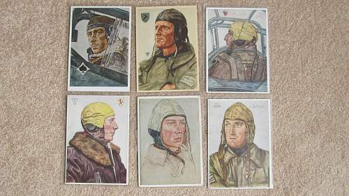 Unsere Luftwaffe post cards