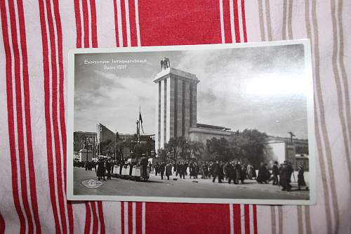 exposition intern. Paris 1937 and DSB Breslau 1937 post cards