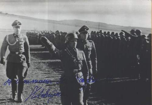 SCHRIJNEN, Richard(Remi) signature post war signed, original?