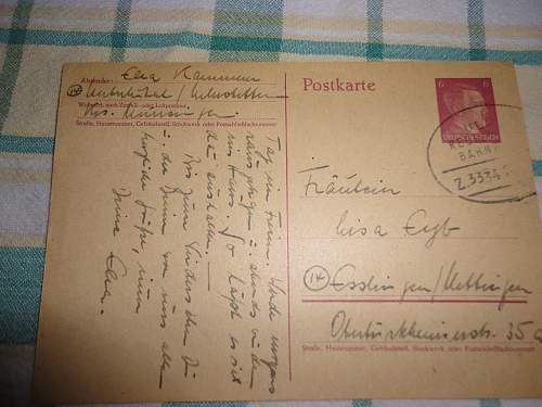 Picked up a German Postcard Looking for Translation