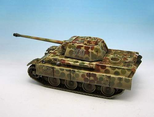 Panther with strange camo