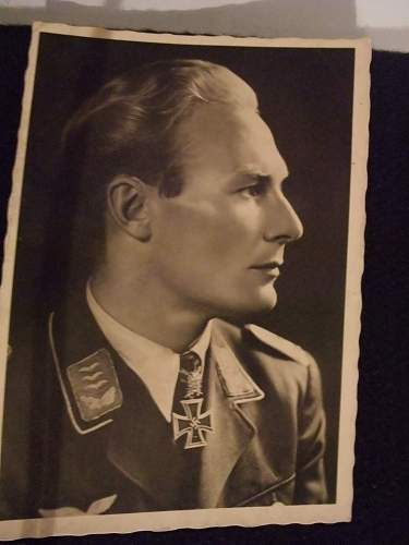 Luftwaffe pilot photo